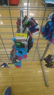 Walmart Cuitláhuac: calcetines para niña de Monsters High a $10.02, platos desechables e invitaciones para bebé