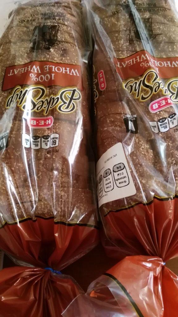 HEB: barra de pan varias presentaciones