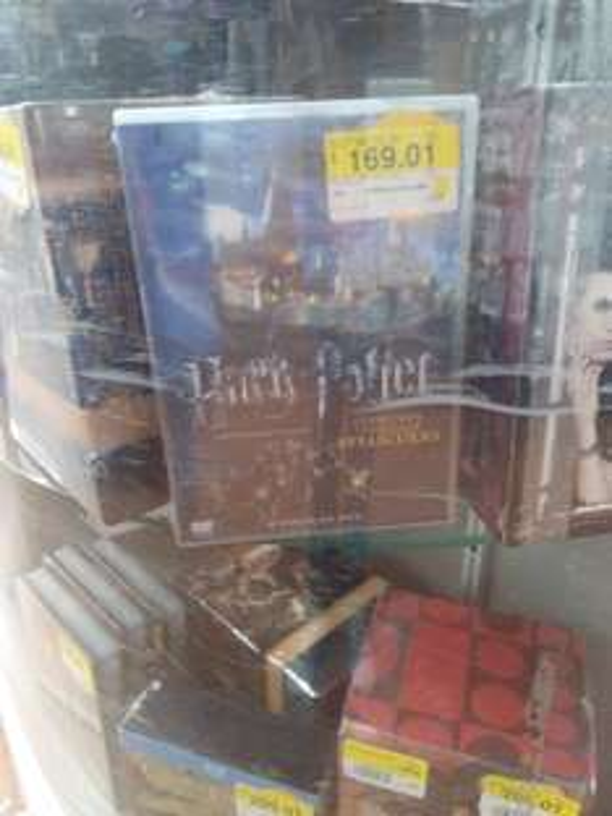 Walmart: Boxset de Harry Potter y mas en liquidacion.