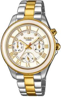 Amazon Mx: Reloj Casio Sheen SWAROVSKI SHE-3507SG-7AUER