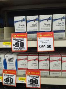 Walmart: desodorantes Rexona Clinical a 2 x $90
