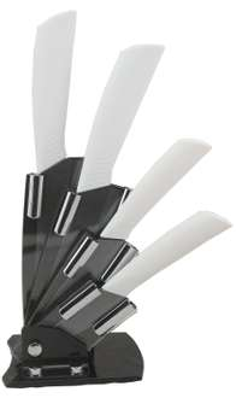 Amazon: juego de 5 cuchillos de cerámica a $245