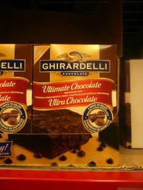Sam's Club: Harina para Brownie Ghirardelli 2.26 Kilos de 168.99 a 9 pesos