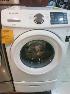 Palacio de Hierro: lavadora Samsung 18 kilos a $7,605
