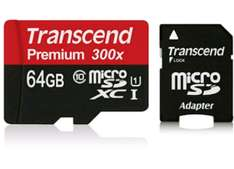 Amazon MX: Transcend 64GB MicroSDXC Class10 UHS-1 Memory Card with Adapter 45 MB/s (TS64GUSDU1E) a $265