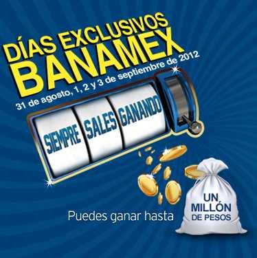 Días Exclusivos Banamex de agosto 31 a septiembre 3: Aeroméxico, Liverpool, Sams, Best Buy y más