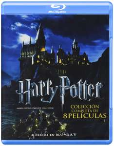 Amazon MX: Colección completa películas Harry Potter en Blu-Ray a $649
