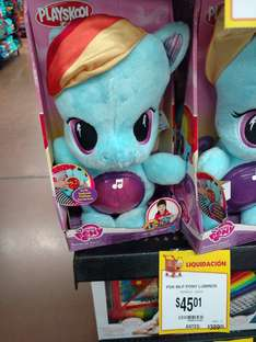 Walmart Puebla Serdán: My Little Pony Luminoso Musical a $45.01