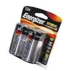 Linio: 2 Pilas D Energizer Max