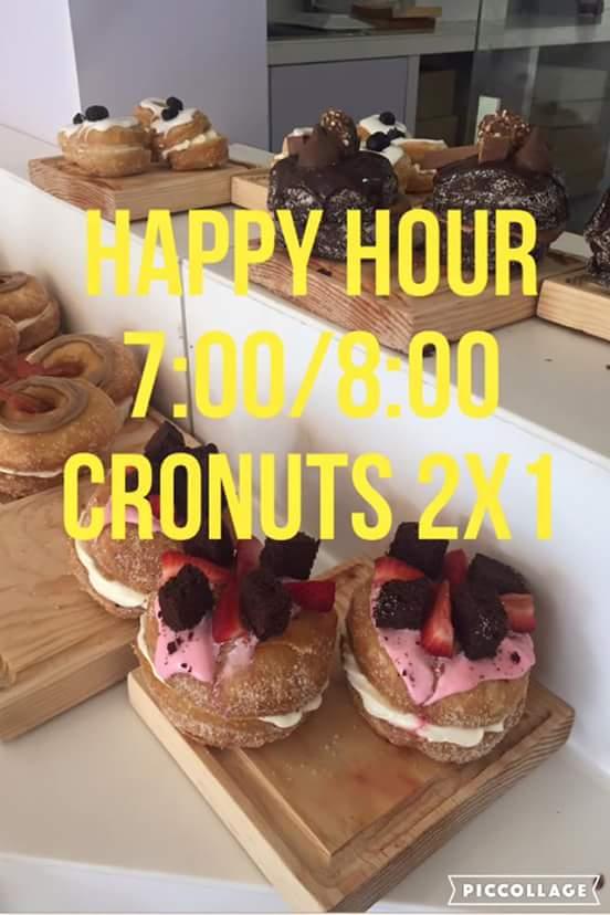 La Caramelia GDL: Happy Hour 7-8pm Cronuts 2x1 (Todo Agosto excepto domingos)