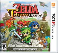 Amazon Mx: The Legend of Zelda Tri Force Heroes para Nintendo 3ds en oferta.