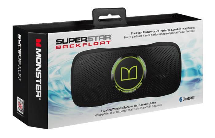 MeQuedoUno: SuperStar BackFloat Waterproof Bluetooth Speaker