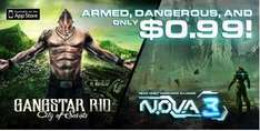 N.O.V.A. 3 y Gangstar Rio: City of Saints a $12 para iPhone u iPad (precio regular $84)