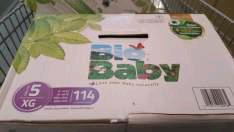 Walmart en línea y tienda fisica: 2 cajas de pañales Bio Baby 114 piezas x $400