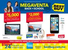 Best Buy: folleto Megaventa Back to School del 4 al 10 de agosto de 2016