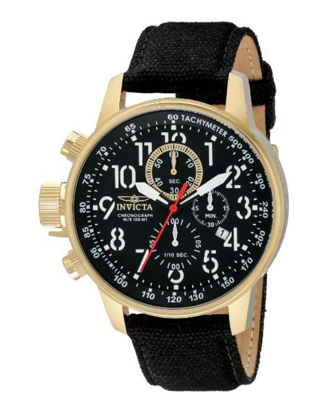 Amazon: Reloj Invicta Force Collection - Acero Inoxidable Ionizado con Baño de Oro de 18 Quilates