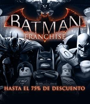 STEAM: Juegos de Batman hasta con 75% de descuento