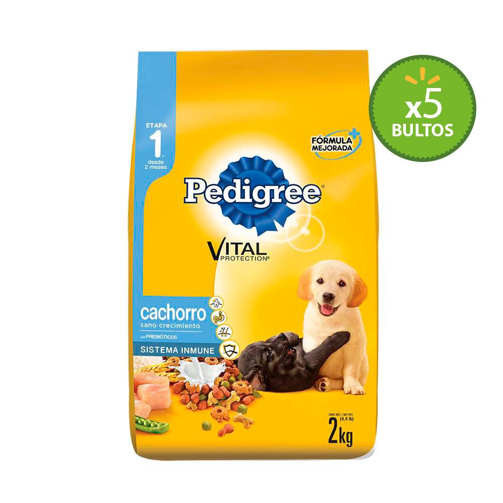 Walmart en línea: Alimento para Perro Pedigree Cachorro 5 bolsas de 2kg a $349 y más