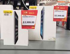 Walmart: iPad Mini 2 (32Gb) o iPad Air 1 (16Gb) a $3,999 c/u