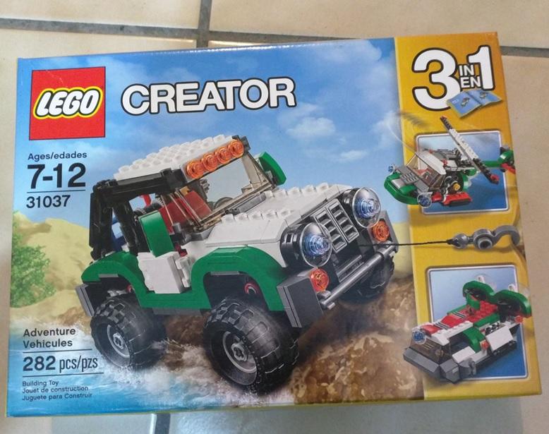 Walmart Fray Servando DF: Lego Creator Vehículo de Aventuras de $449 a $100.03