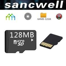 Wish: Micro SD (128 MB) a $113
