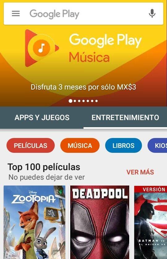 Google Play Music: 3 meses por $3 pesos (usuarios seleccionados)