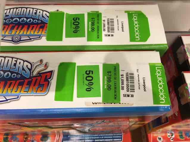 Liverpool Galerias Pachuca: juguetes skylanders para PS4, Xbox One, n3ds con 50% de descuento