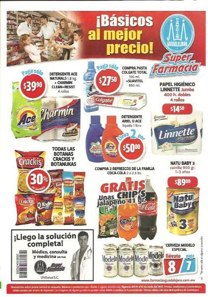 Folleto Famacias Guadalajara: ofertas en chocolates Hershey, cereales para bebé, Ensure, tintes y más