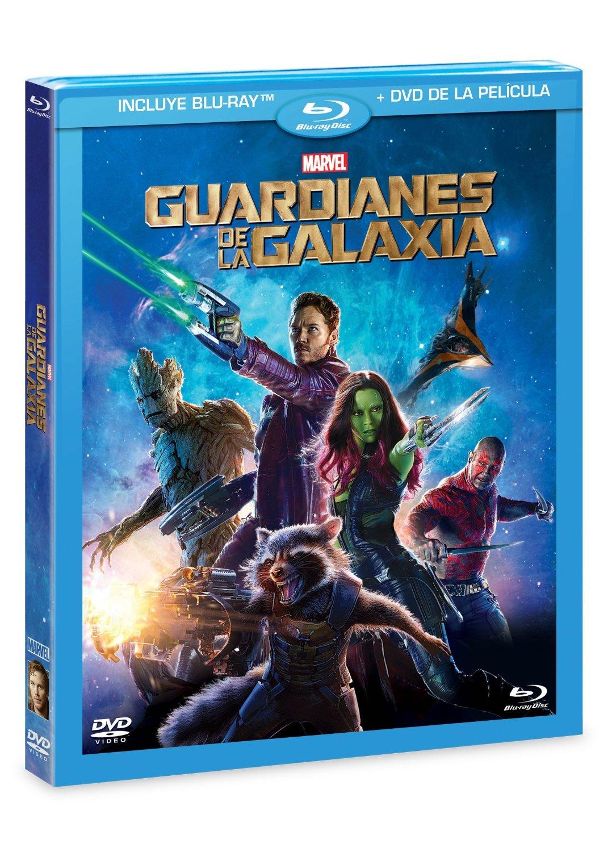 Amazon MX: Guardianes de la Galaxia Blu-Ray + DVD a $79 pesos