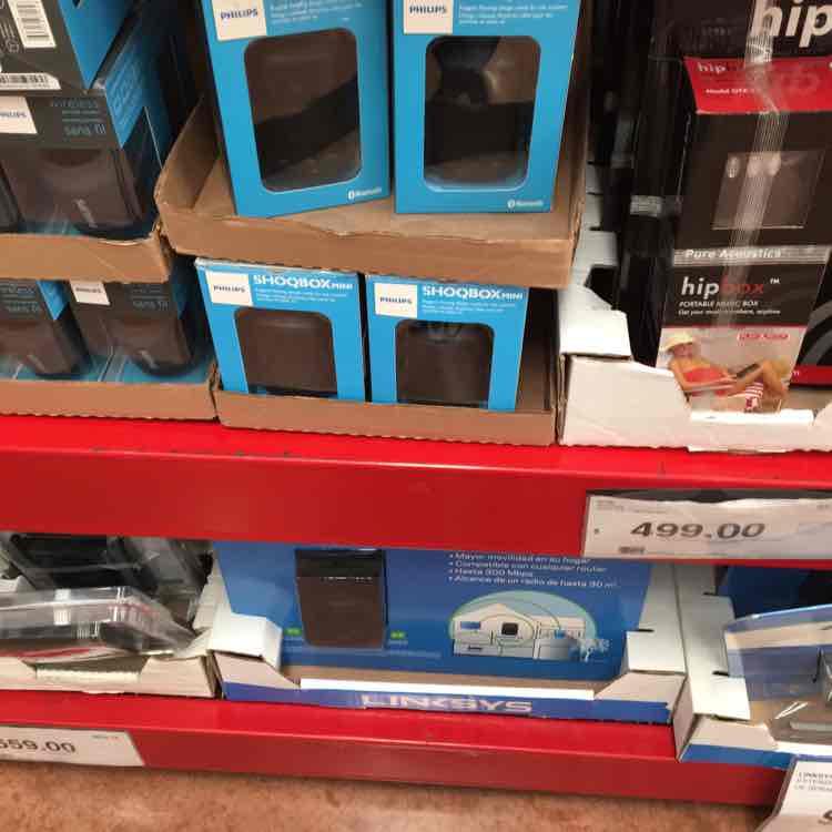 City Club: bocina portátil Philips Shoqbox Mini a $399