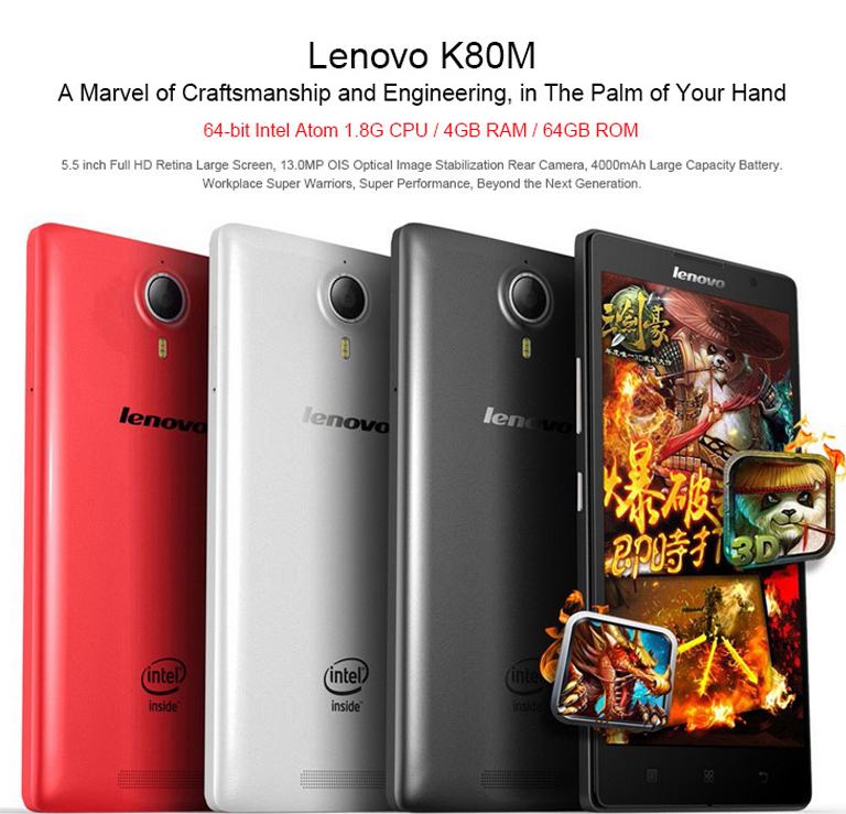 Tinydeal: Lenovo k80m 4gb ram 64gb rom