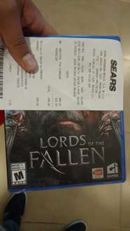 Sears Buenavista: Lords of the fallen para PS4 a $249