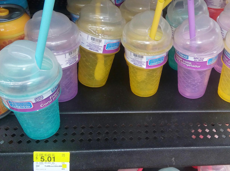 Walmart: Cono para congelar a $5.01