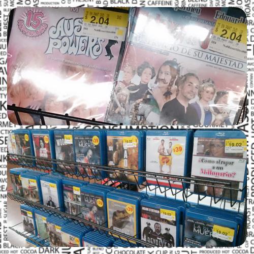 Walmart: Peliculas DVD desde $2.04 y BD desde $19.02 muchos titulos y mas