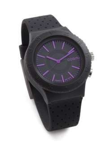 Amazon: reloj inteligente cogito pop negro/morado a $399