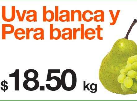 Miércoles de Plaza en La Comer agosto 15: jícama $4.60, uva blanca $18.50 y más