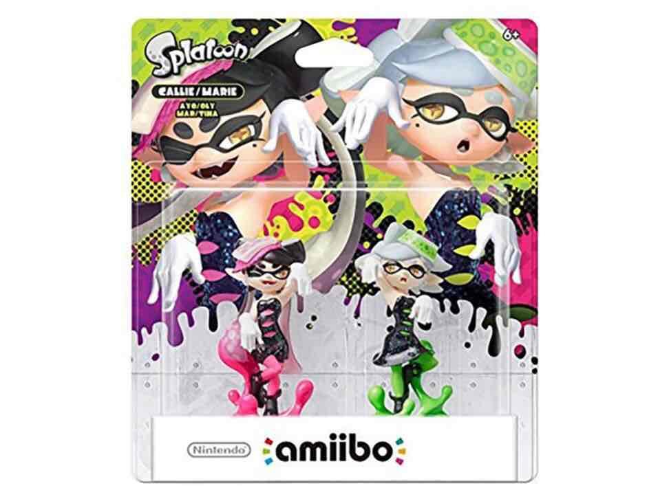 Liverpool: Amiibo Splatoon Callie y Marie de Nintendo