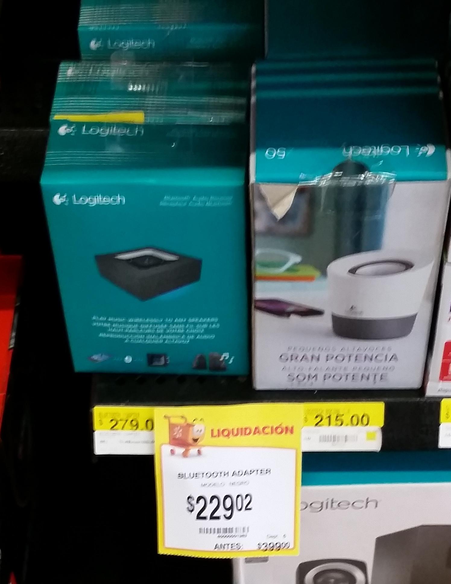 Walmart Deportiva Villahermosa: Adaptador Bluetooth Logitech a $229.02