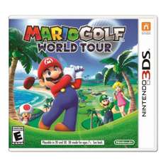 Walmart: Mario Golf World Tour para nintendo 3ds en oferta.