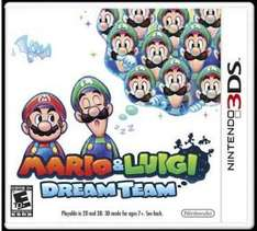 Sears: Mario & Luigi Dream Team para Nintendo 3ds en oferta.