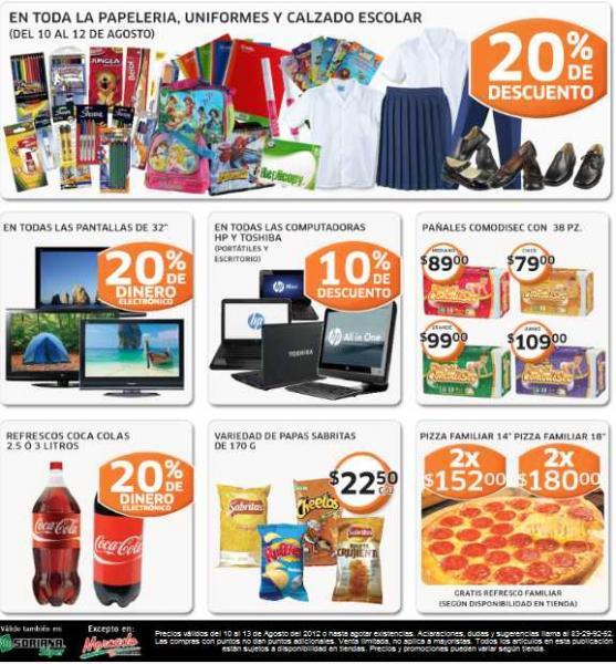 Soriana: ofertas en papelería, uniformes escolares, computadoras y más