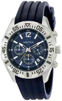 Amazon: reloj de acero inoxidable, multifunción, para hombre Nautica NST 402 N17667G a $912
