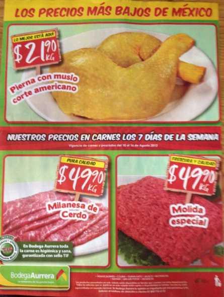 Tianguis de Mamá Lucha agosto 10: plátano $4.50, melón $9.90 y más