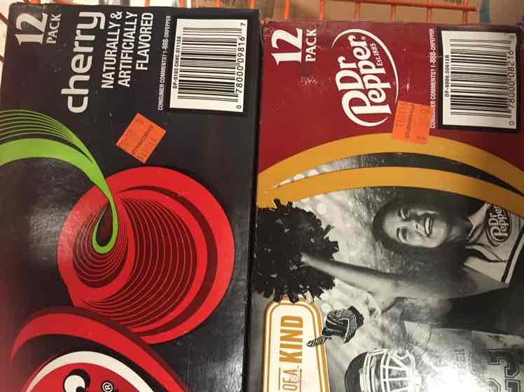 Chedraui Xochimilco: Dr. Pepper 12 latas a $30