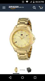 Amazon: Tommy Hilfiger Women's 1781413 Gold-Tone Watch a $920
