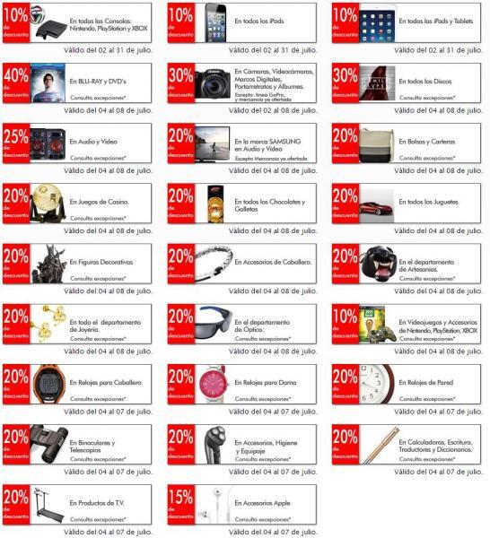 Sanborns: 40% de descuento en blu-rays y DVDs y más ofertas