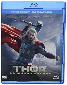 Amazon MX: Thor Un Mundo Oscuro Blu-ray + DVD a $79