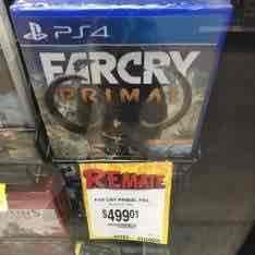 Bodega Aurrerá: Farcry Primal para PS4 y Xbox One a $499.01