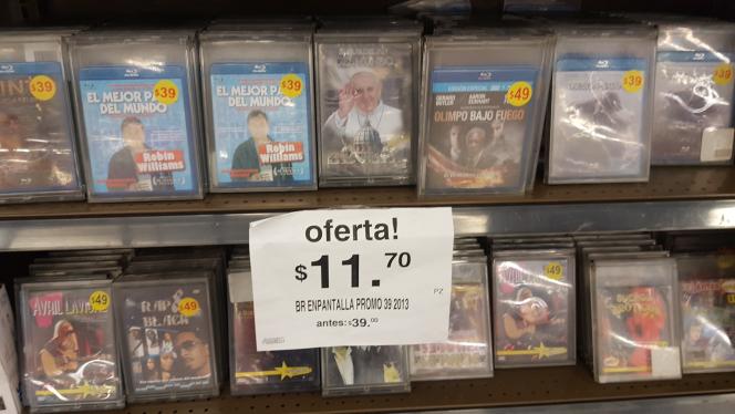 Soriana Echegaray: Blu-Ray varios títulos a $11.70