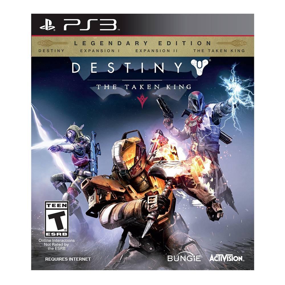 """Walmart en linea Destiny PS3 The Taken King """"Edición legendaria"""""""
